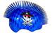C-Preme Raskullz Eyepatch Pirate Mohawk helm Kinderen blauw